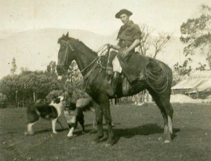 Gaucho with his Ovelheiros circa 1950 – Courtesy Eric Barreto
